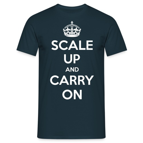 Scale Up and Carry On - Men's T-Shirt