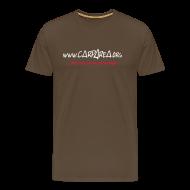 T-Shirts ~ Männer Premium T-Shirt ~ www.carparea.org T-Shirt mit Logo (in Farbe)