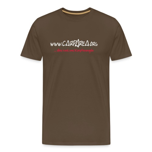 www.carparea.org T-Shirt mit Logo (in Farbe) - Männer Premium T-Shirt