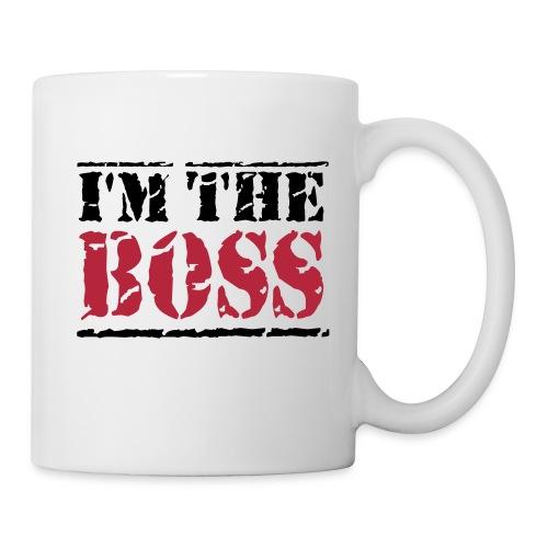 Tasse I'M THE BOSS - Mug blanc