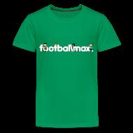 Shirts ~ Teenage Premium T-Shirt ~ Footballmax T-Shirt Boys (10-12yo)