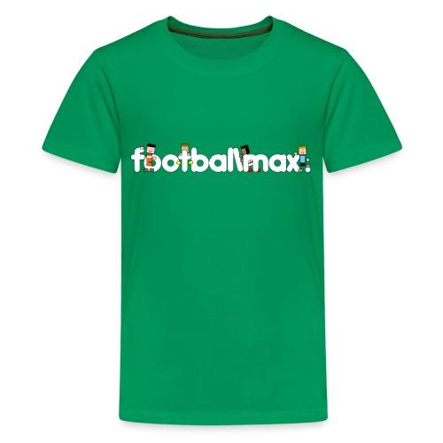 Footballmax T-Shirt Boys (10-12yo) - Teenage Premium T-Shirt