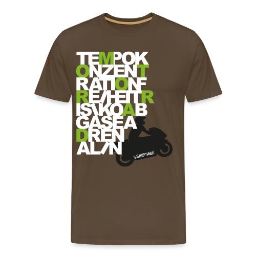 S33 men Motorrad 2 - Männer Premium T-Shirt