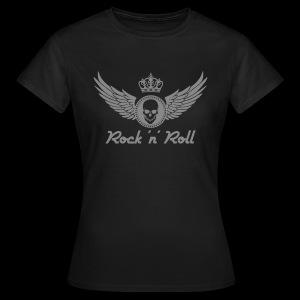 Rock 'n' Roll - silber - Frauen T-Shirt