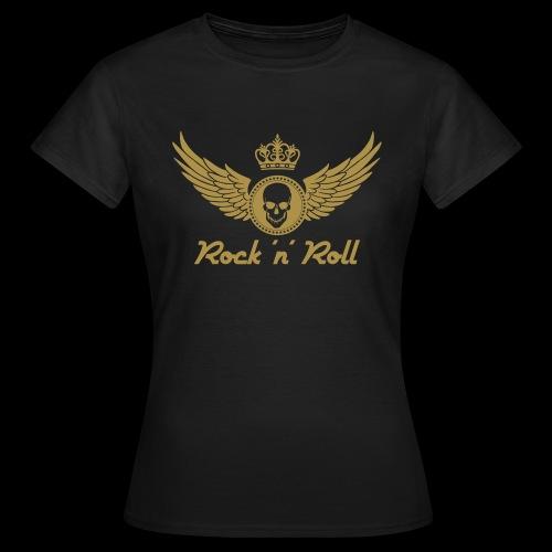Rock 'n' Roll - gold - Frauen T-Shirt