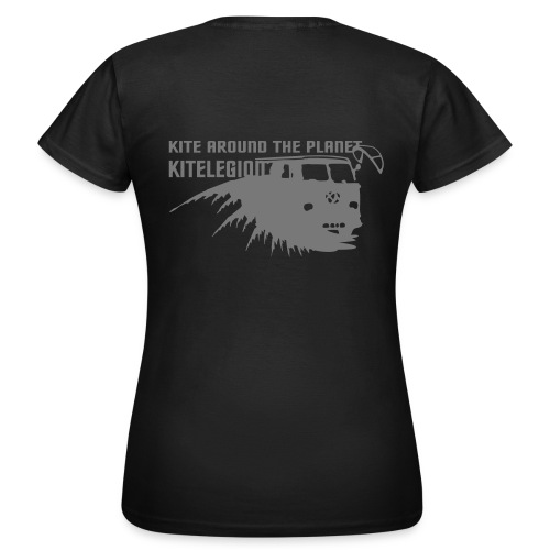 Kite around the planet - Frauen T-Shirt