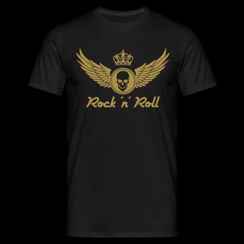 Rock 'n' Roll - gold - Männer T-Shirt