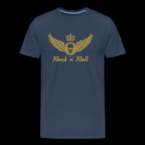 Rock 'n' Roll - gold - Männer Premium T-Shirt