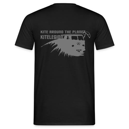 Kite around the planet - Männer T-Shirt