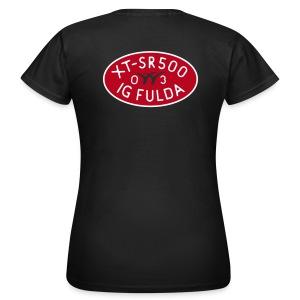 IG Fulda back Girlie-Shirt - Frauen T-Shirt