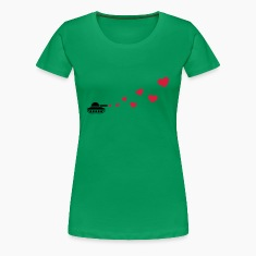 Tank Love Hearts T-shirts