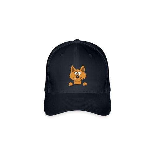 Funny cute Fox Lippikset & myssyt - Flexfit Baseballkappe