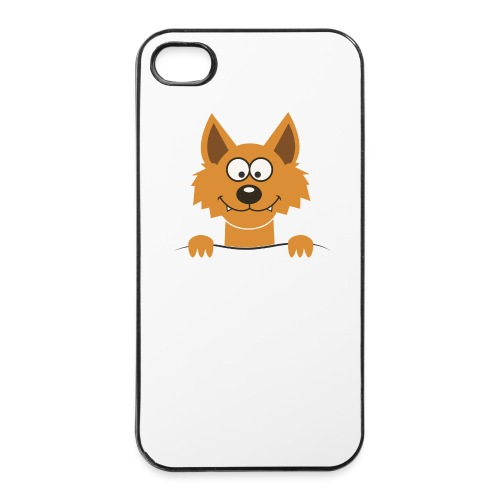 Funny cute Fox Kännykkä & tablet -kotelot - iPhone 4/4s Hard Case