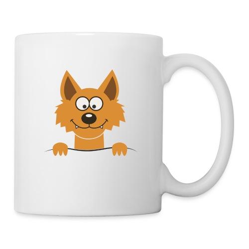 Funny cute Fox Pullot & mukit - Tasse