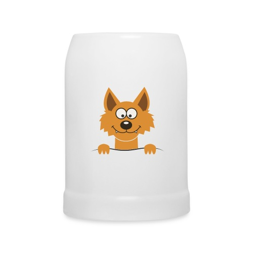 Funny cute Fox Pullot & mukit - Bierkrug