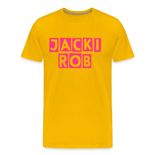 Jacki Rob One Pink Edition - Männer Premium T-Shirt