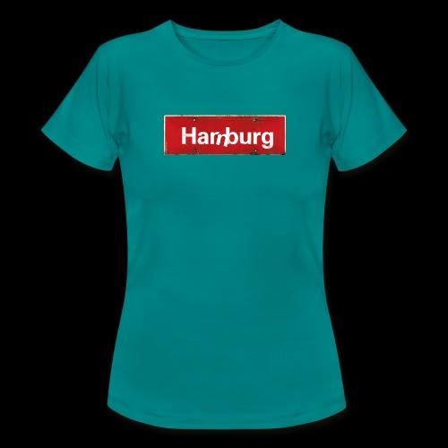 Mein Hamburg, mein Harburg, mein Kiezshirt - Frauen T-Shirt