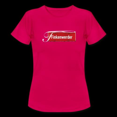 Mein Hamburg, mein Finkenwerder, mein Kiezshirt - Frauen T-Shirt