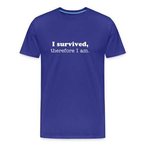 survived - Men's Premium T-Shirt