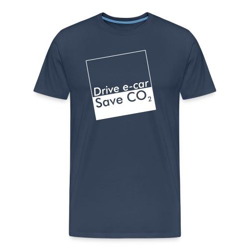 Drive e-car - Save CO2   © by TOSKIO-VTMS - Männer Premium T-Shirt