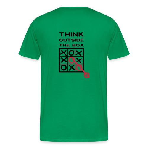 Think outside the box - Camiseta premium hombre