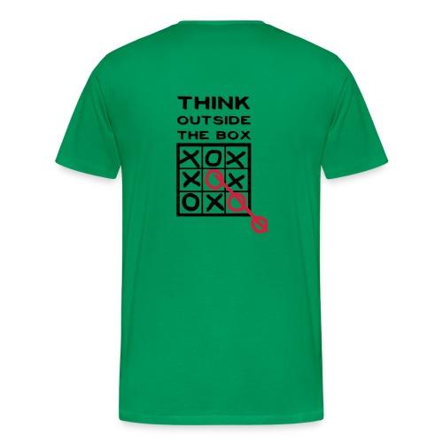 Think outside the box - Camiseta premium hombre