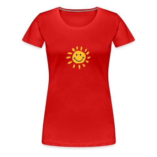 Koszulka damska słoneczko. - Koszulka damska Premium