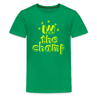 Shirts ~ Teenage Premium T-Shirt ~ Little Champ