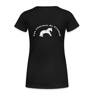 Logo Dos - T-shirt Premium Femme