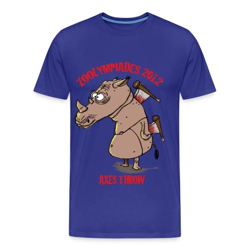 Axes Throw Homme - T-shirt Premium Homme