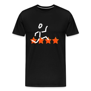 Big star walk - Männer Premium T-Shirt