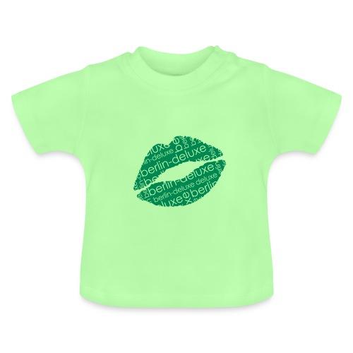 Berlin Deluxe t-shirt mit Lippen Motiv - Baby T-Shirt