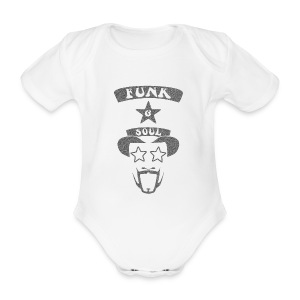 Organic Short-sleeved Baby Bodysuit - Custom design for the 70s Funk & Soul Party