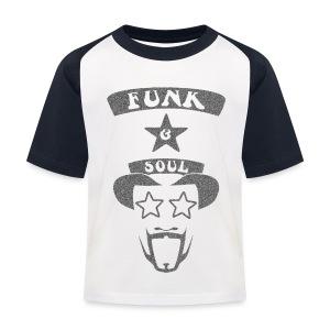 Kids' Baseball T-Shirt - Custom design for the 70s Funk & Soul Party