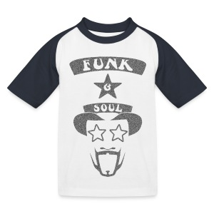 Kids' Baseball T-Shirt - Custom design for the 70s Funk & Soul Party