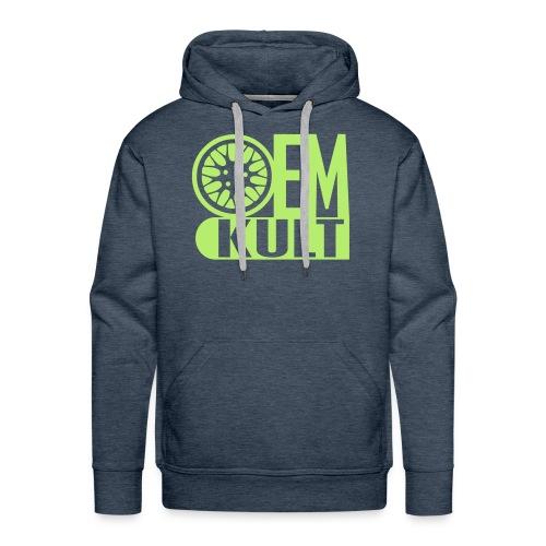 Hoodie OEM-Kult lime - Männer Premium Hoodie