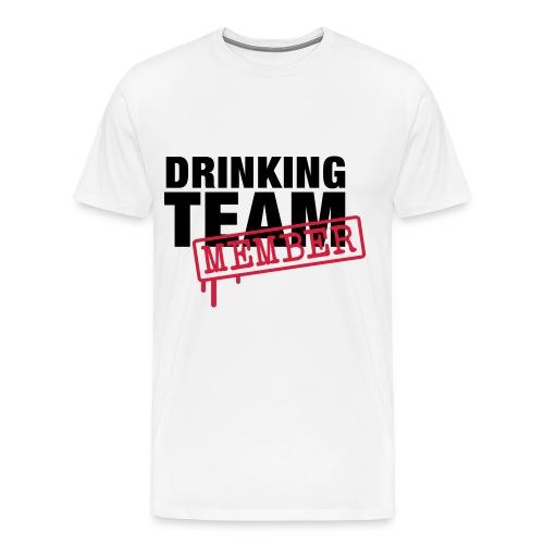 Drinking team member - Men's Premium T-Shirt