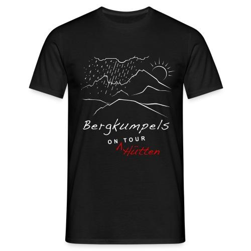 Bergkumpels on Tour T-Shirt Dunkel - Männer T-Shirt