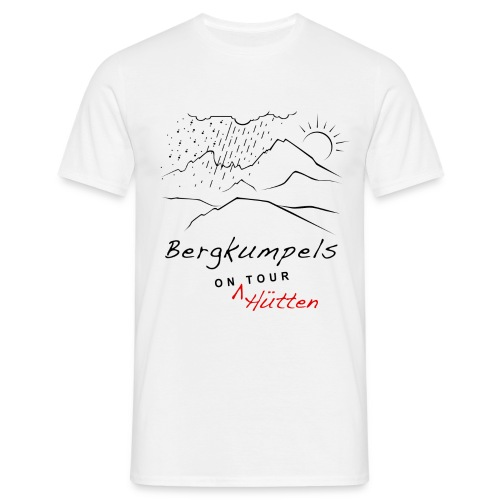 Bergkumpels on Tour T-Shirt Hell - Männer T-Shirt