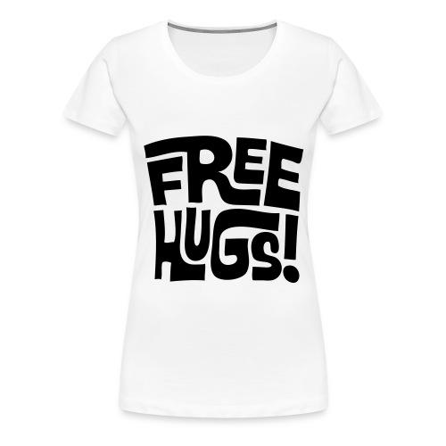 Free hugs (Women) - Women's Premium T-Shirt