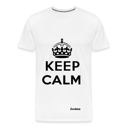 TeeShirt - Keep Calm - T-shirt Premium Homme