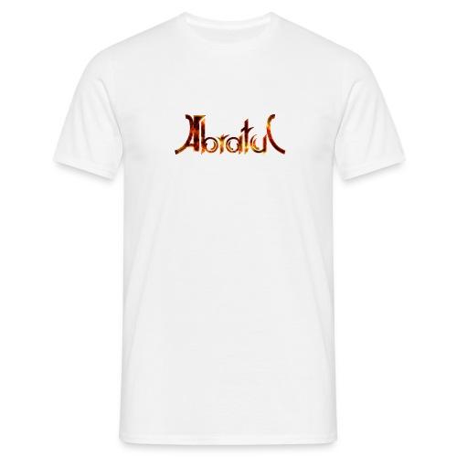 T-Shirt Weiß Flammen - Männer T-Shirt