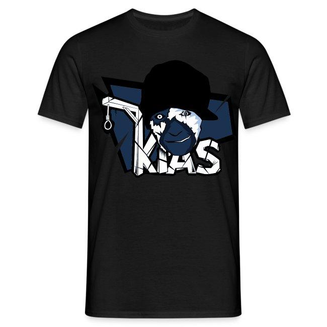 KIAS Fanshirt! Logo Marineblau