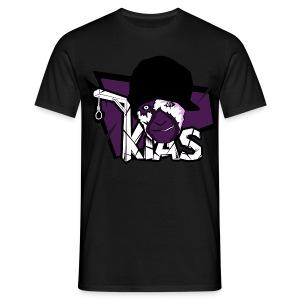 KIAS Fanshirt! - Logo Lila - Männer T-Shirt