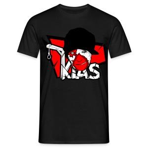 KIAS Fanshirt! - Logo Rot - Männer T-Shirt