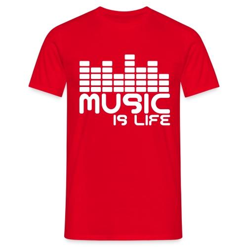 Music Shirt - Männer T-Shirt
