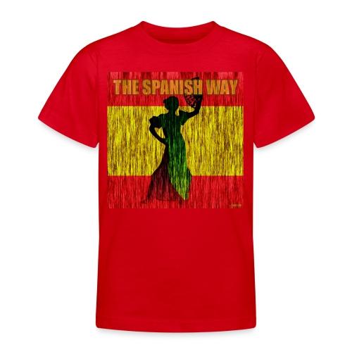 The Spanish way - Teenage T-Shirt