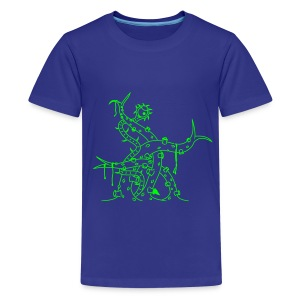 Tentacle Tastic - Teenage Premium T-Shirt