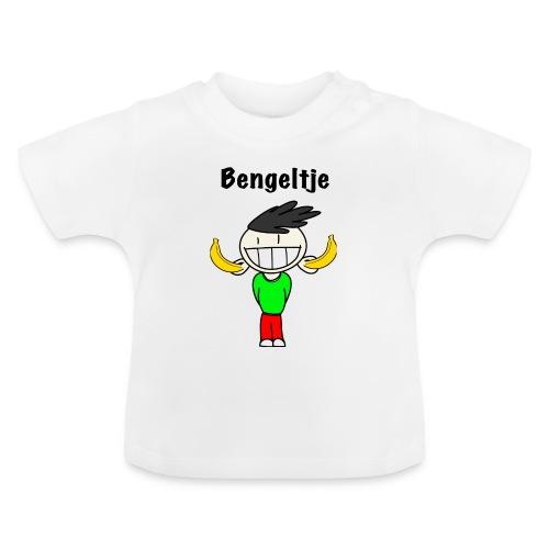 T-shirt Bengeltje bananen wit - Baby T-shirt