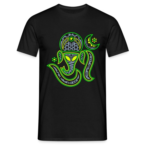 Ganesha-Aum 3-Color Print Men Classic Shirt - Men's T-Shirt